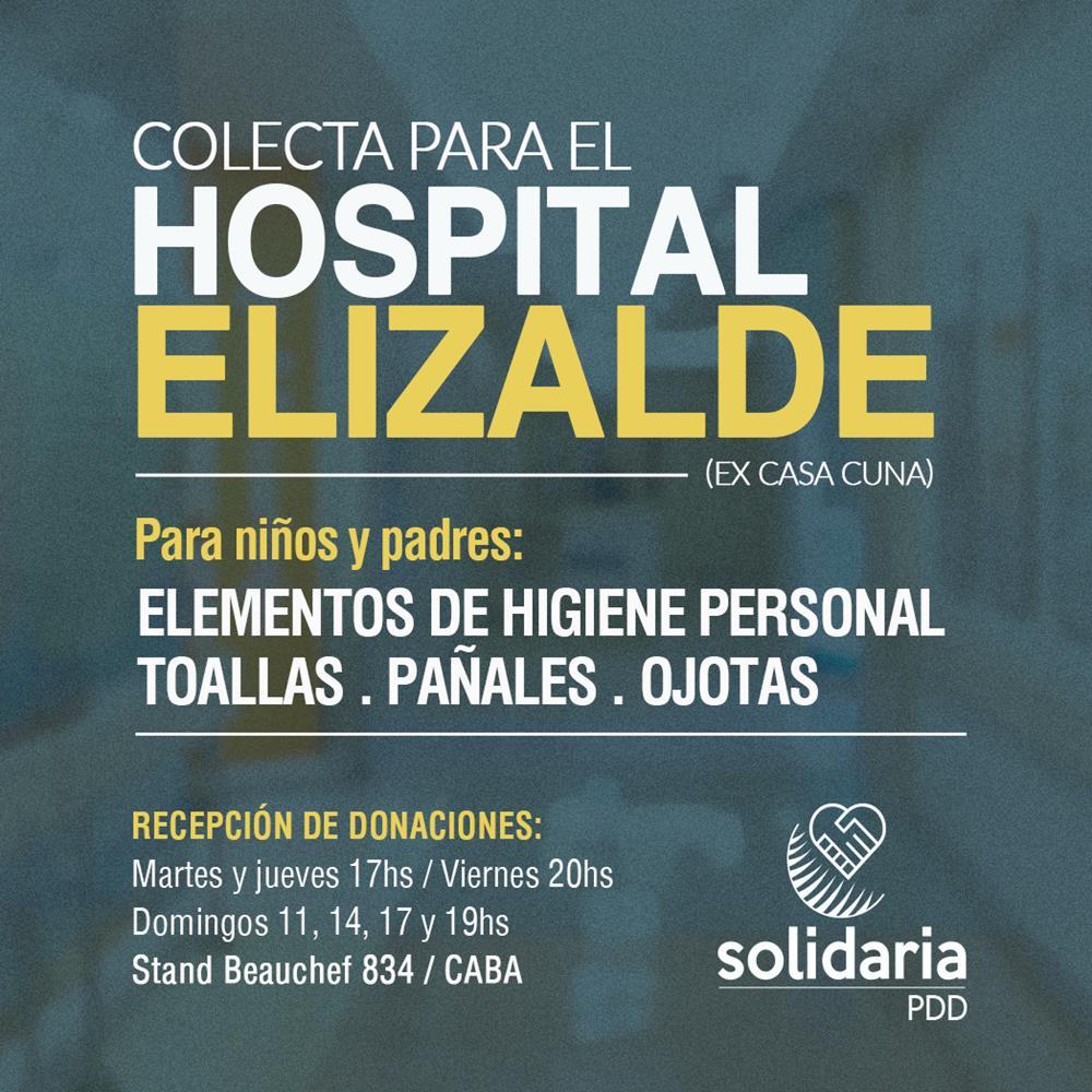 Colecta hospitales web