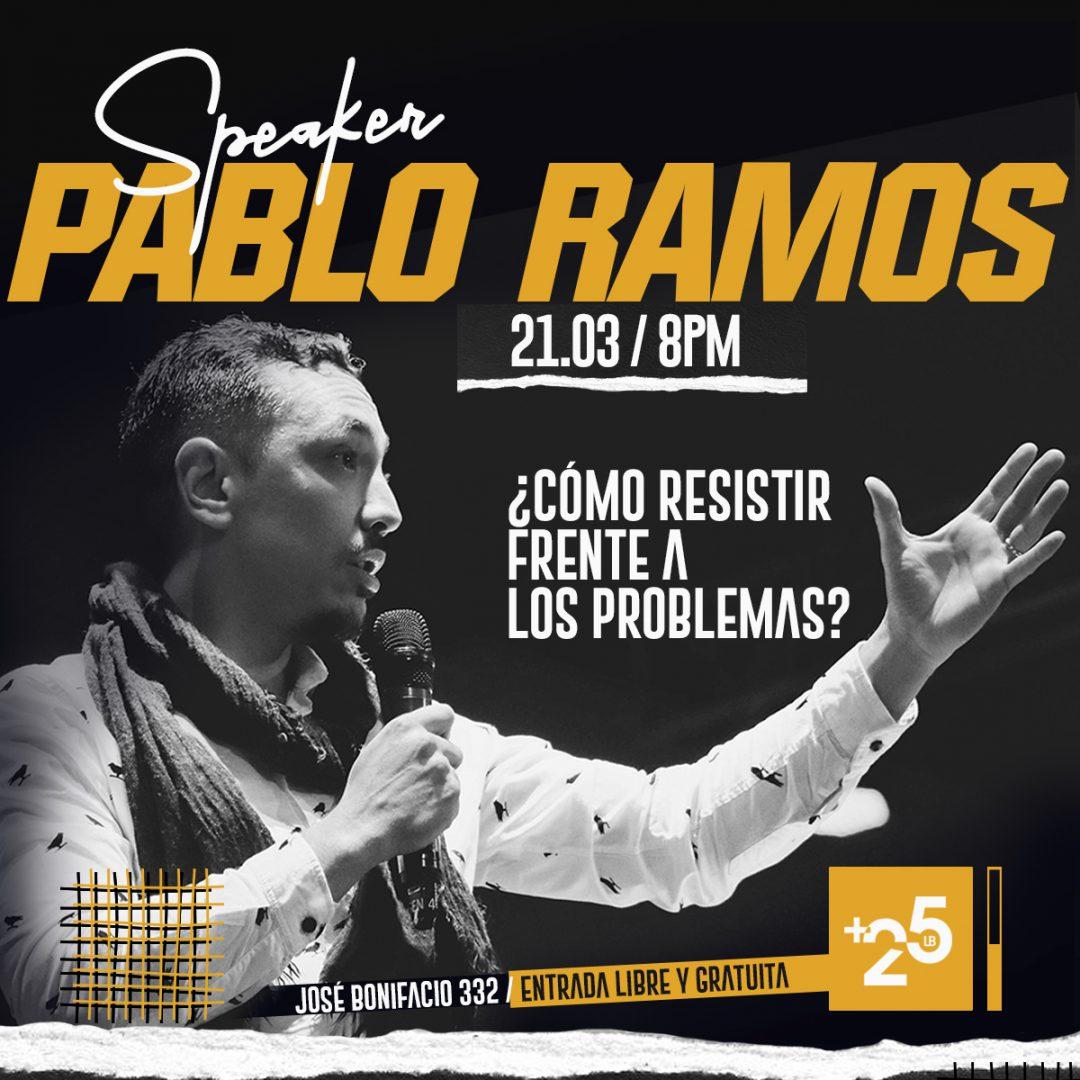 Pablo Ramos 21-03 +25 Feed